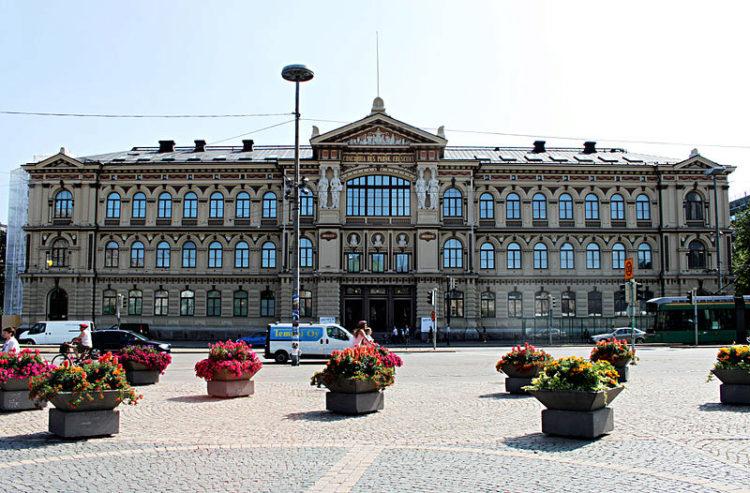Художественный музей Ateneum в Хельсинки - достопримечательности Хельсинки, Финляндия