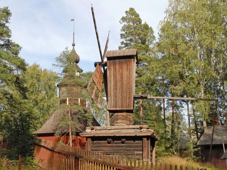 Музей под открытым небом на острове Сеурасаари - достопримечательности Хельсинки, Финляндия