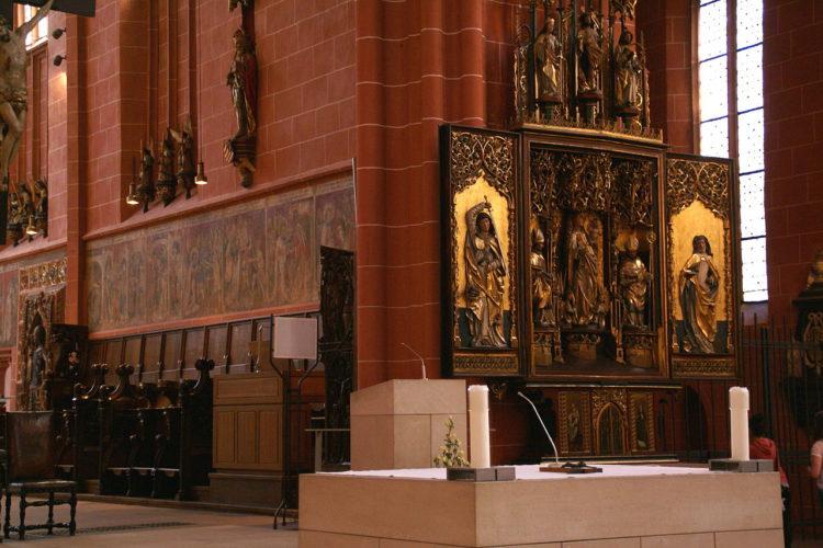 Собор Святого Варфоломея во Франкфурте-на-Майне - достопримечательности Франкфурта, Германия