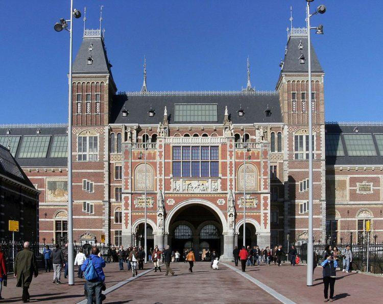 Rijksmuseum (Государственный музей) в Амстердаме - достопримечательности Амстердама, Нидерланды