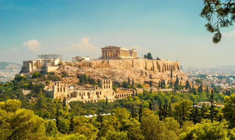 Акрополь в Афинах - достопримечательности Афин