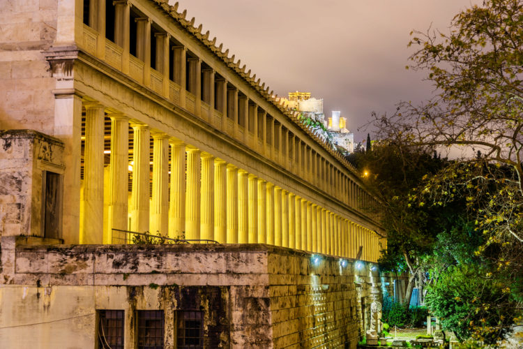 Что посмотреть в Афинах - Стоа Атталос в Афинах