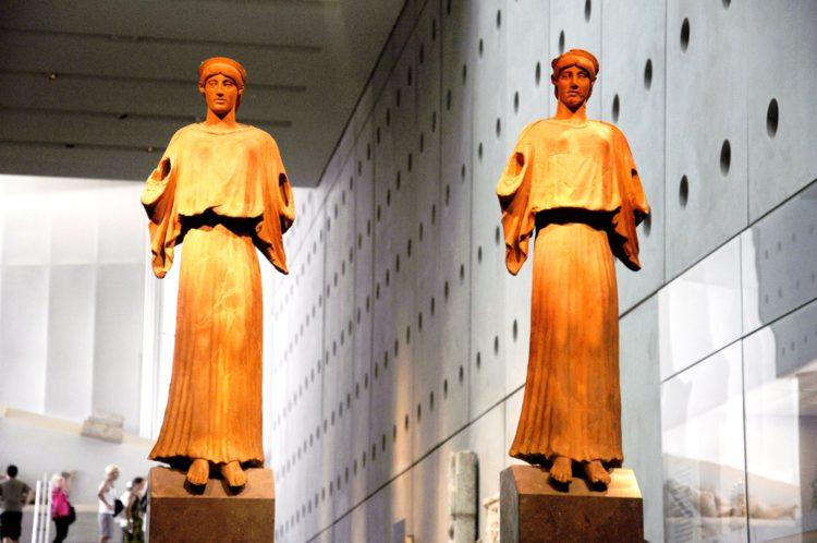 Музей Акрополя - Древние статуи - Афины - достопримечательности Афин