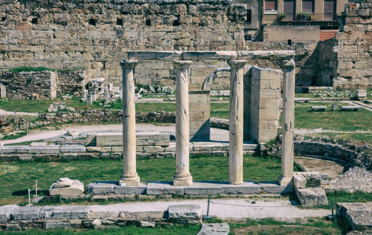 Римская Агора в Афинах - достопримечательности Афин