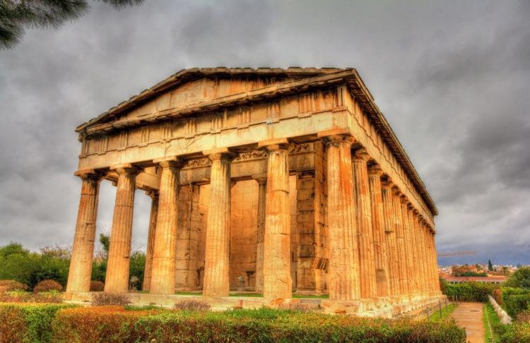 Храм Гефеста - достопримечательности Афин