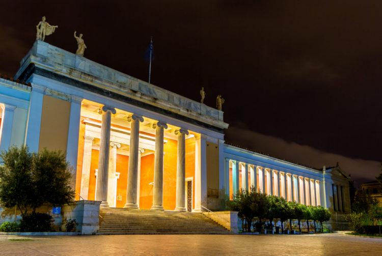 Национальный археологический музей - достопримечательности Афин