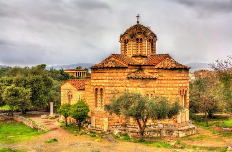 Церковь Святых Апостолов - достопримечательности Афин