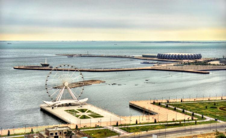 Бакинское колесо обозрения - достопримечательности Баку