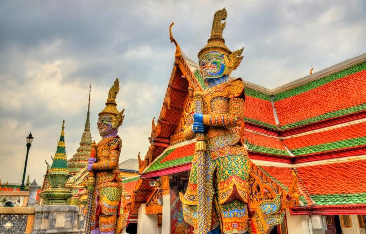 Ват Пхракэу или храм «Изумрудного Будды» - достопримечательности Бангкока