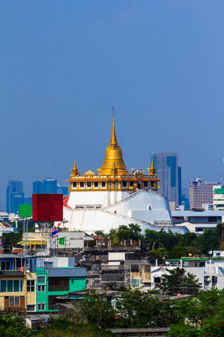 Золотая гора (Wat Saket) - достопримечательности Бангкока