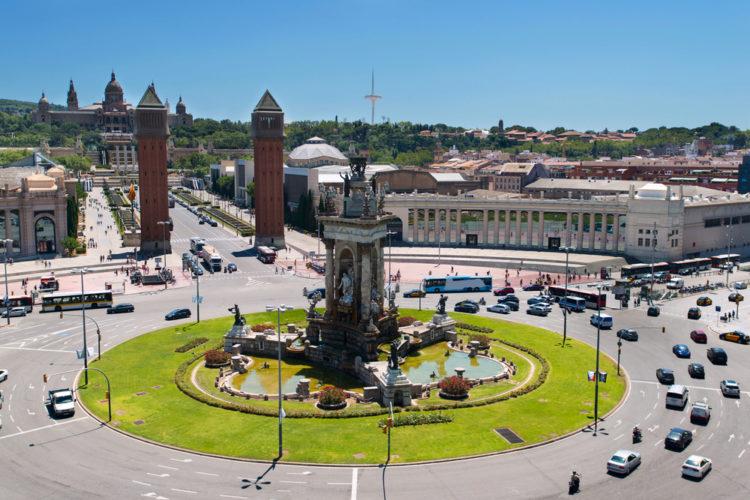Площадь Испании в Барселоне - достопримечательности Барселоны