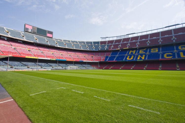 Футбольный стадион Camp Nou в Барселоне - достопримечательности Барселоны