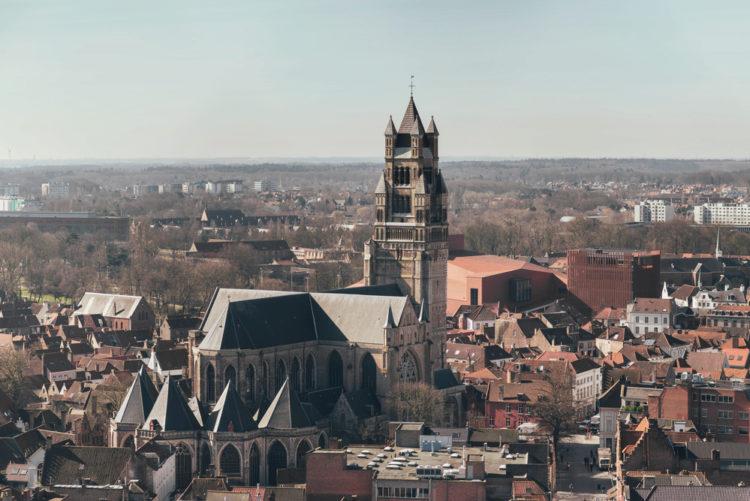 собор Святого Сальватора в Брюгге - достопримечательности Бюгге