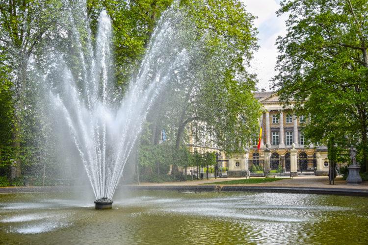 Что посмотреть в Брюсселе - Брюссельский парк