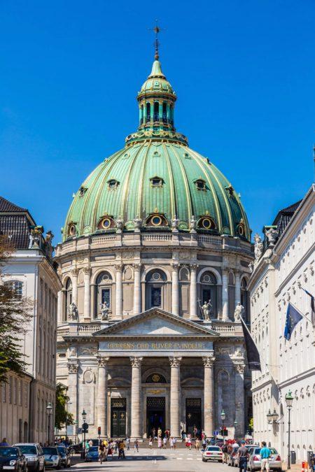 Церковь Фредерика, Мраморная церковь в Копенгагене - достопримечательности Копенгагена, Дания