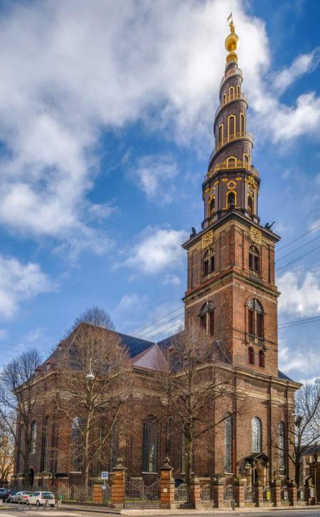Церковь Спасителя в Копенгагине - достопримечательности Копенгагена, Дания