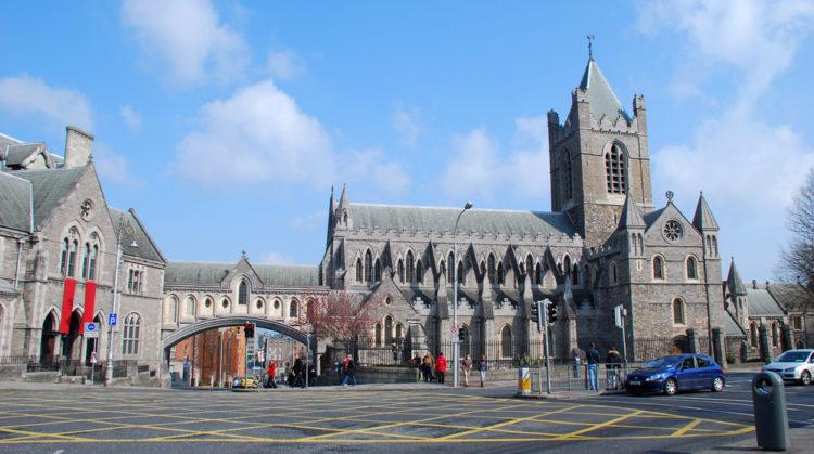 Церковь Христа в Дублине - достопримечательности Дублина, Ирландия