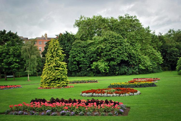 Общественный парк Святого Стефана Грина в Дублине - Что посмотреть в Дублине