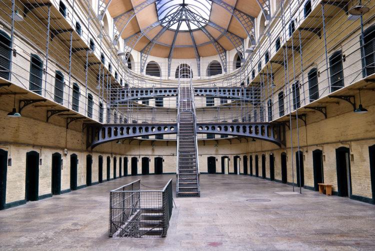Килмайнхам Гаол в Дублине - достопримечательности Дублина, Ирландия