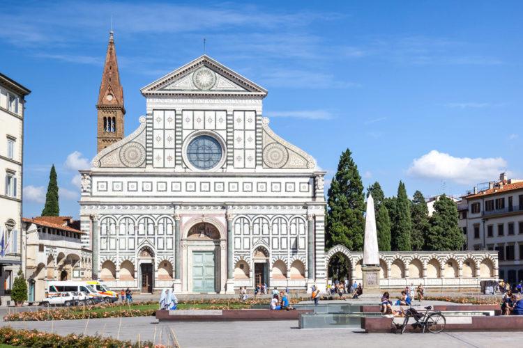 Базилика Санта-Мария-Новелла (Santa Maria Novella) во Флоренции - достопримечательности Флоренции, Италия