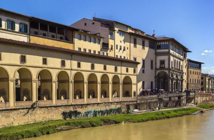 Галерея Уффици (Uffizi Gallery) во Флоренции - достопримечательности Флоренции, Италия