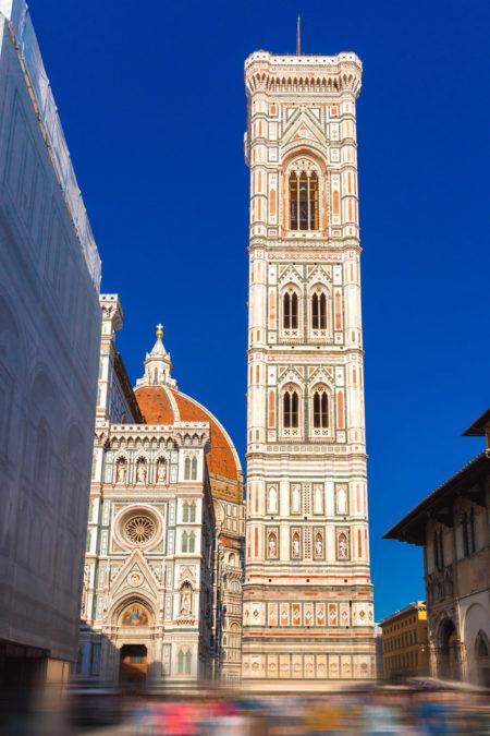 Колокольня Джотто (Campanile Duomo) - достопримечательности Флоренции, Италия
