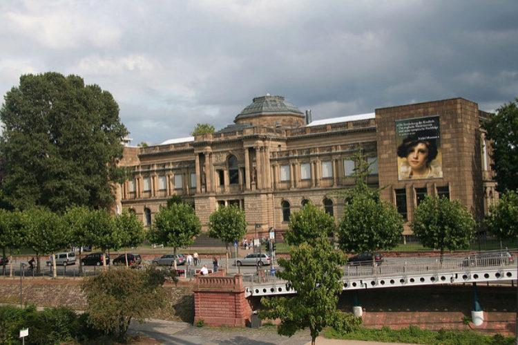 Художественный институт Städel (Städelsches Kunstinstitut) во Франкфурте-на-Майне - достопримечательности Франкфурта, Германия