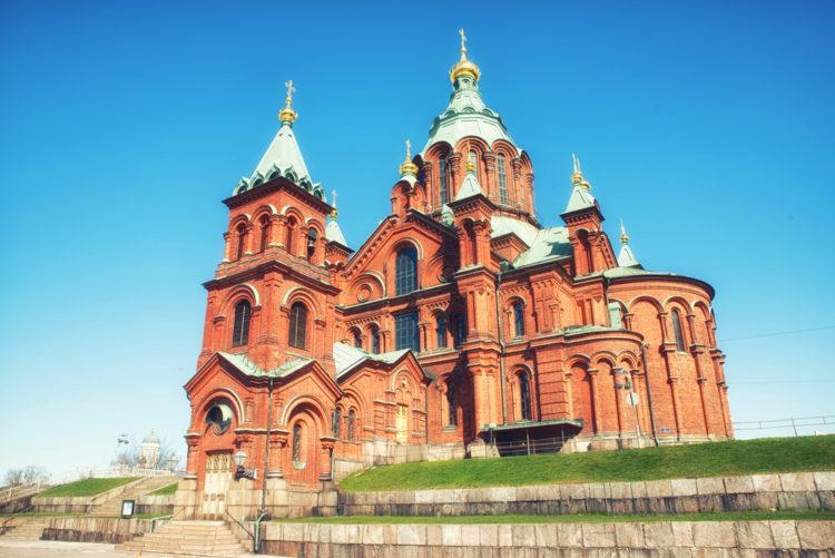 Успенский собор - Православный собор в Хельсинки - достопримечательности Хельсинки, Финляндия