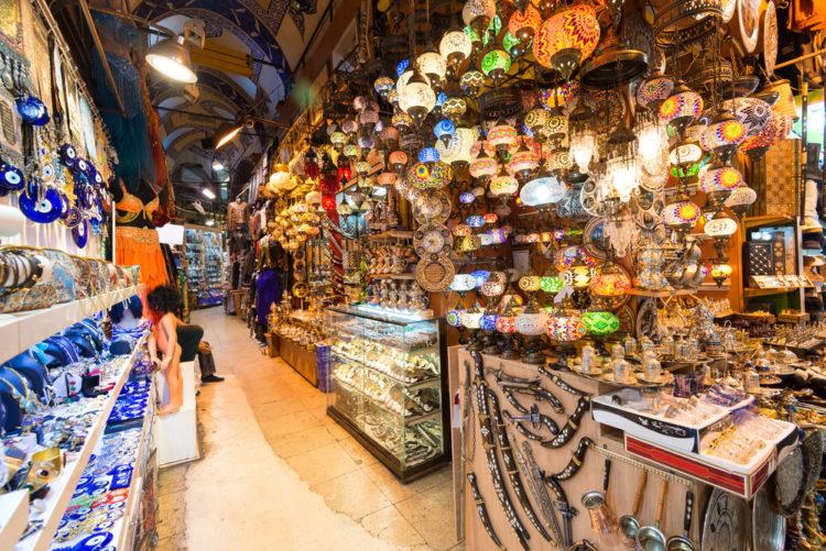 Гранд-базар (Grand Bazaar) - достопримечательности Стамбула, Турция