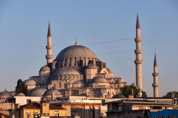 Мечеть Сулеймание в Стамбуле - достопримечательности Стамбула, турция
