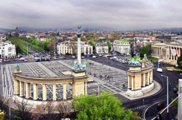 Площадь Героев в Будапеште - достопримечательности Будапешта, Венгрия
