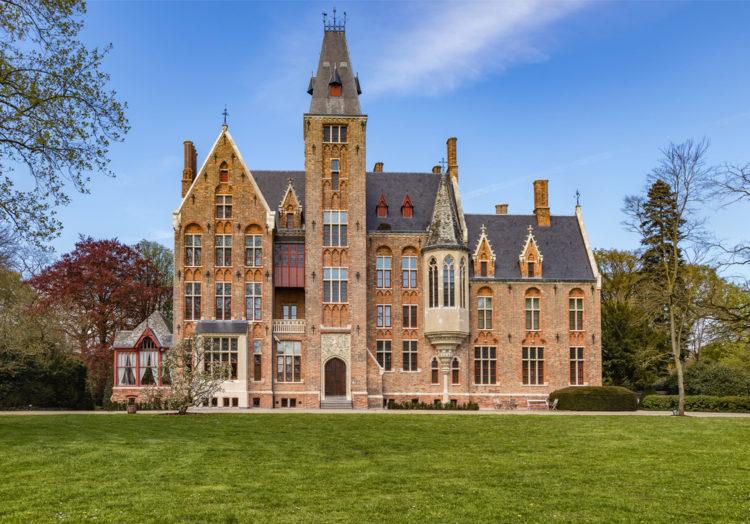 Замок Лоппем в Лоппеме - достопримечательности Брюгге