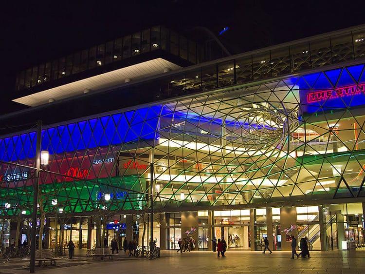Торговый центр MyZeil во Франкфурте-на-Майне - Что посмотреть во Франкфурте