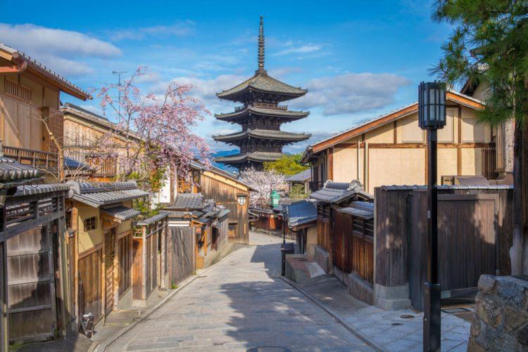 Улочка Саннен-дзака - Что посмотреть в Киото