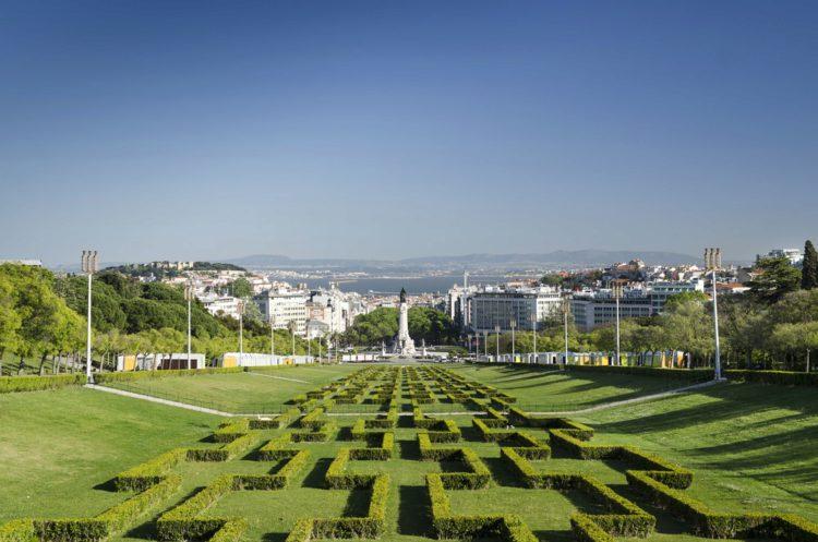 Парк Эдуарда VII Английского - достопримечательности Лиссабона, Португалия
