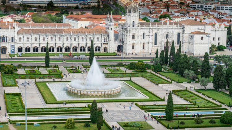 Монастырь иеронимитов в Белене - достопримечательности Лиссабона, Португалия