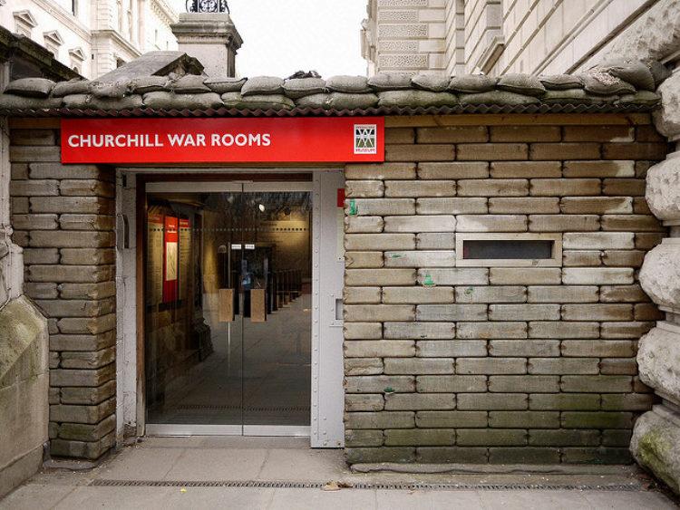 Музей-бункер «Военные комнаты» Черчилля - достопримечательности Лондона, Англия, Великобритания