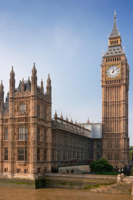 Лондонский Биг-Бен - достопримечательности Лондона, Англия, Великобритания