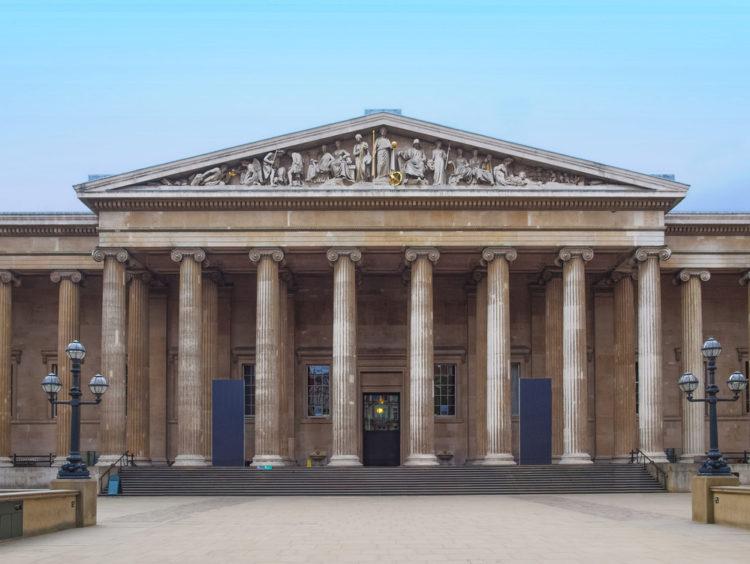 Британский музей в Лондоне - достопримечательности Лондона, Англия, Великобритания