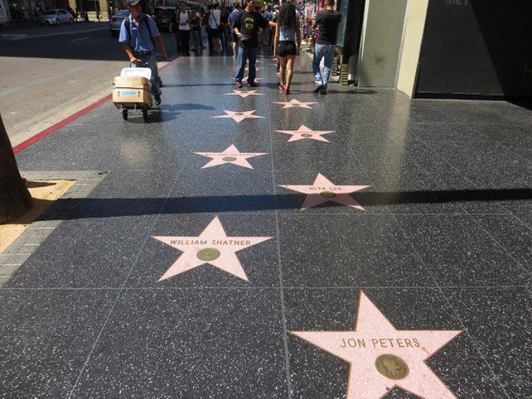 Голливудская «Аллея славы» - достопримечательности Лос-Анджелеса, Калифорния, США