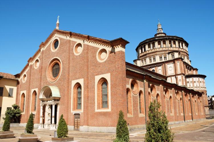 Доминиканский монастырь и церковь Санта-Мария-делле-Грацие - достопримечательности Милана, Италия