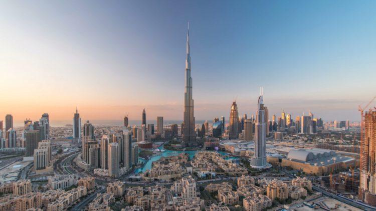 Башня Бурдж-Халифа - достопримечательности Дубая