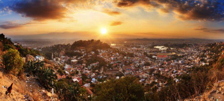 Город Антананариву - достопримечательности Мадагаскара