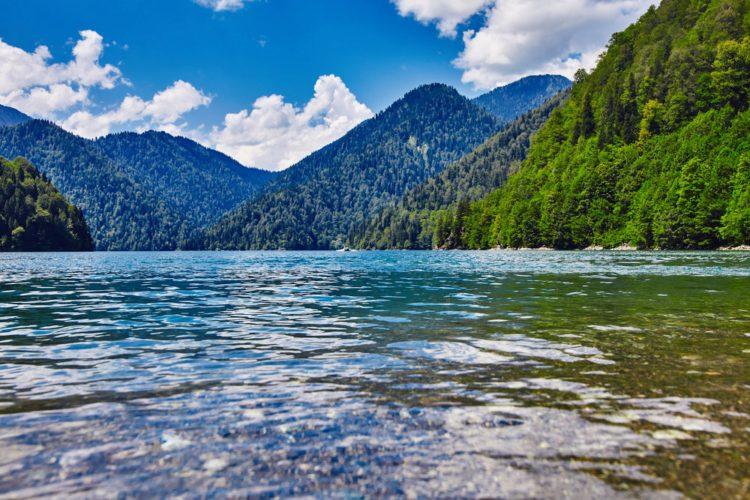 Озеро Рица - достопримечательности Абхазии