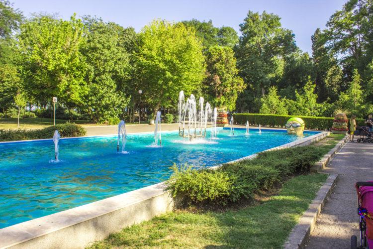 Приморский парк - достопримечательности Бургаса