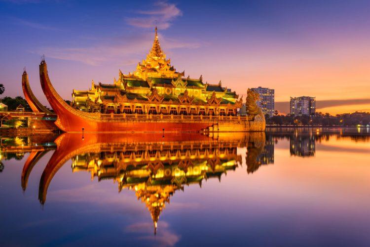 Город Янгон - достопримечательности Мьянмы