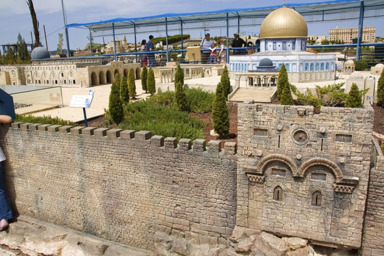 Парк «Мини-Израиль» в Латруне - достопримечательности Израиля