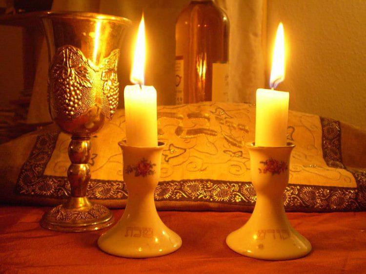 Свечи Шаббата - еврейская традиция в Израиле
