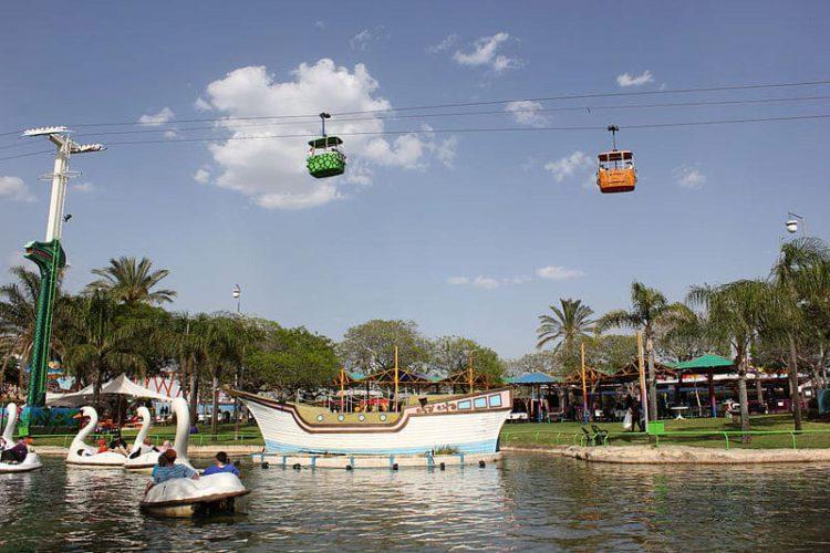 Парк аттракционов Superland - достопримечательности Израиля