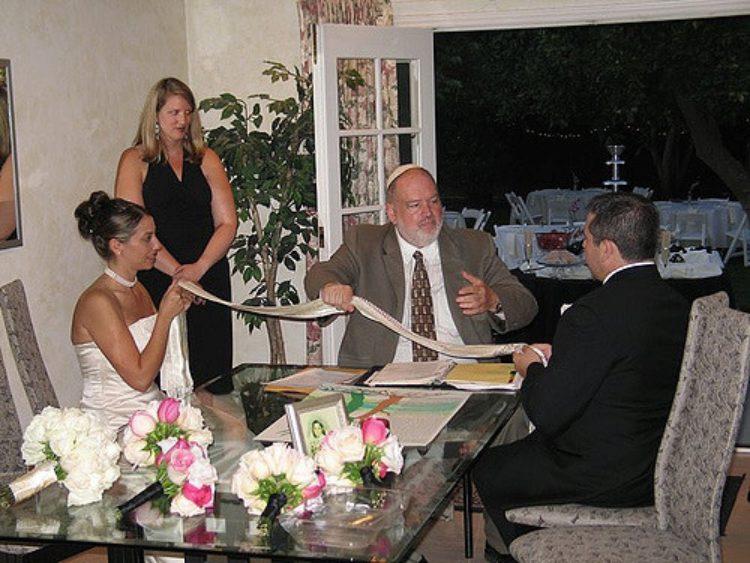Брачный контракт кетуб - традиция еврейской свадьбы, Израиль